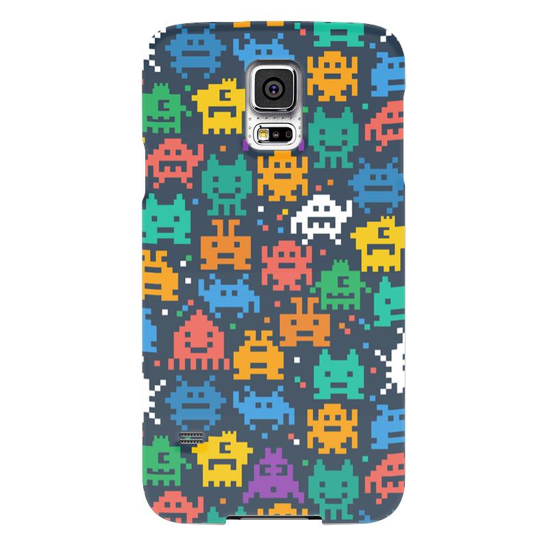 Чехол для Samsung Galaxy S5 Printio Монстры пиксели чехол для samsung galaxy s5 printio череп художник