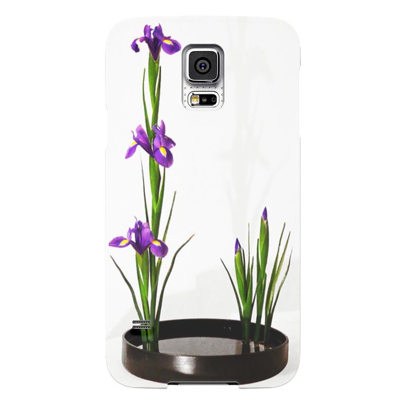 Чехол для Samsung Galaxy S5 Printio Икебана / ikebana чехол для samsung galaxy s5 printio композиция в сером
