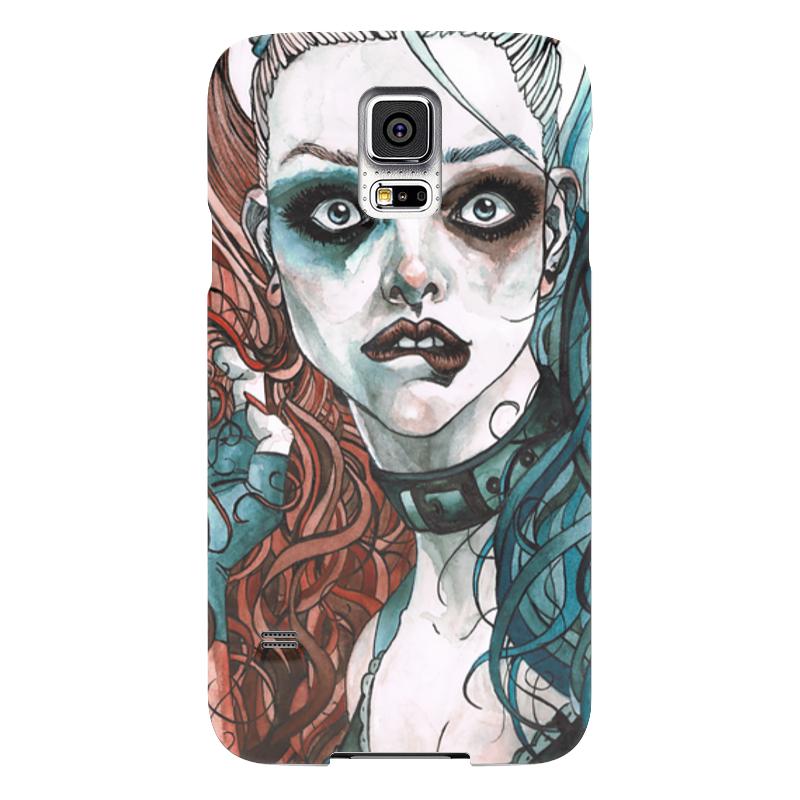 Чехол для Samsung Galaxy S5 Printio Харли квинн чехол для samsung galaxy s5 printio череп художник