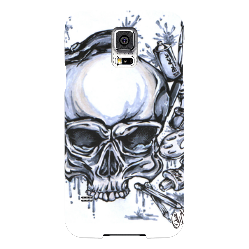 Чехол для Samsung Galaxy S5 Printio Череп художник чехол для samsung galaxy s5 printio череп