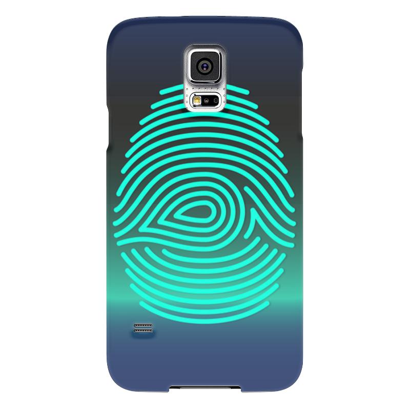 Чехол для Samsung Galaxy S5 Printio Отпечаток пальца samsung g900h galaxy s5 16гб белый в омске