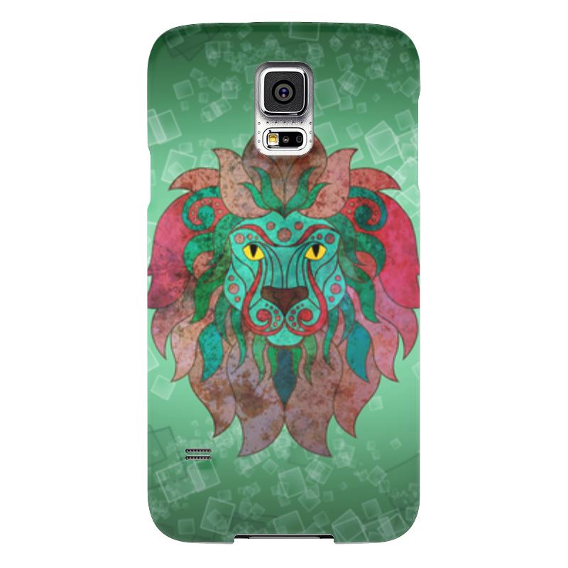 Чехол для Samsung Galaxy S5 Printio Яркий лев чехол для samsung galaxy s5 printio череп художник