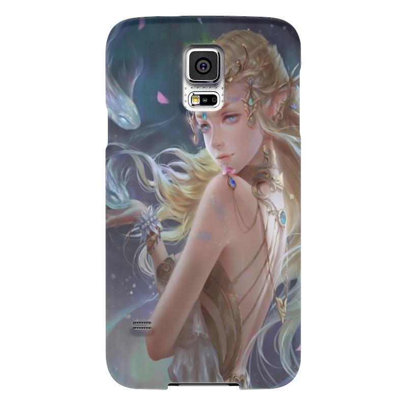 Чехол для Samsung Galaxy S5 Printio Girl чехол для samsung galaxy s5 printio skull