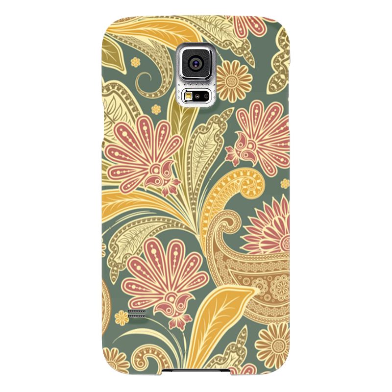 Чехол для Samsung Galaxy S5 Printio Цветочный чехол для samsung galaxy s5 printio череп художник