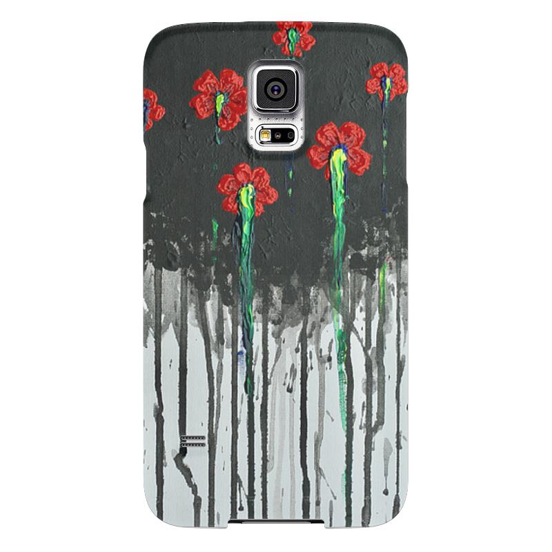 Чехол для Samsung Galaxy S5 Printio Красные маки чехол для samsung galaxy s5 printio ruby rose samsung galaxy s5