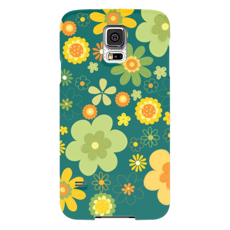 Чехол для Samsung Galaxy S5 Printio Хиппи samsung g900h galaxy s5 16гб белый в омске