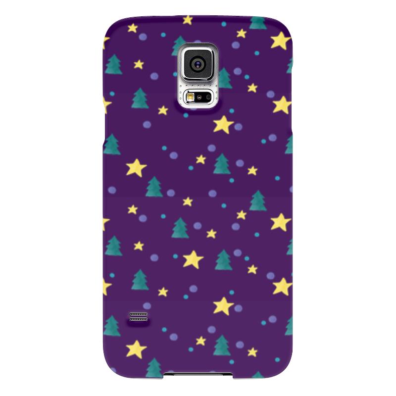 Чехол для Samsung Galaxy S5 Printio Елки и звезды нашествие дни и ночи