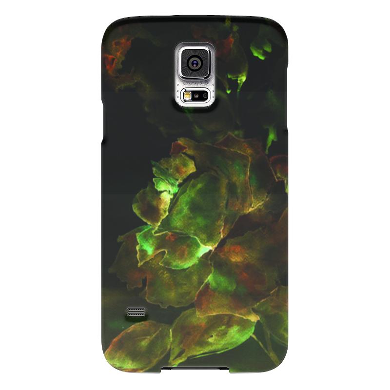 Чехол для Samsung Galaxy S5 Printio Золотая роза чехол для samsung galaxy s5 printio череп художник