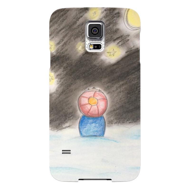 Чехол для Samsung Galaxy S5 Printio Полярная ночь чехол для samsung galaxy s5 printio череп художник