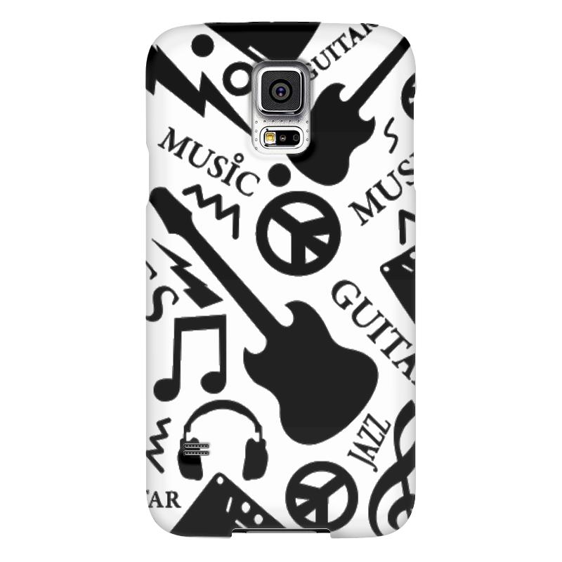 Чехол для Samsung Galaxy S5 Printio Музыка