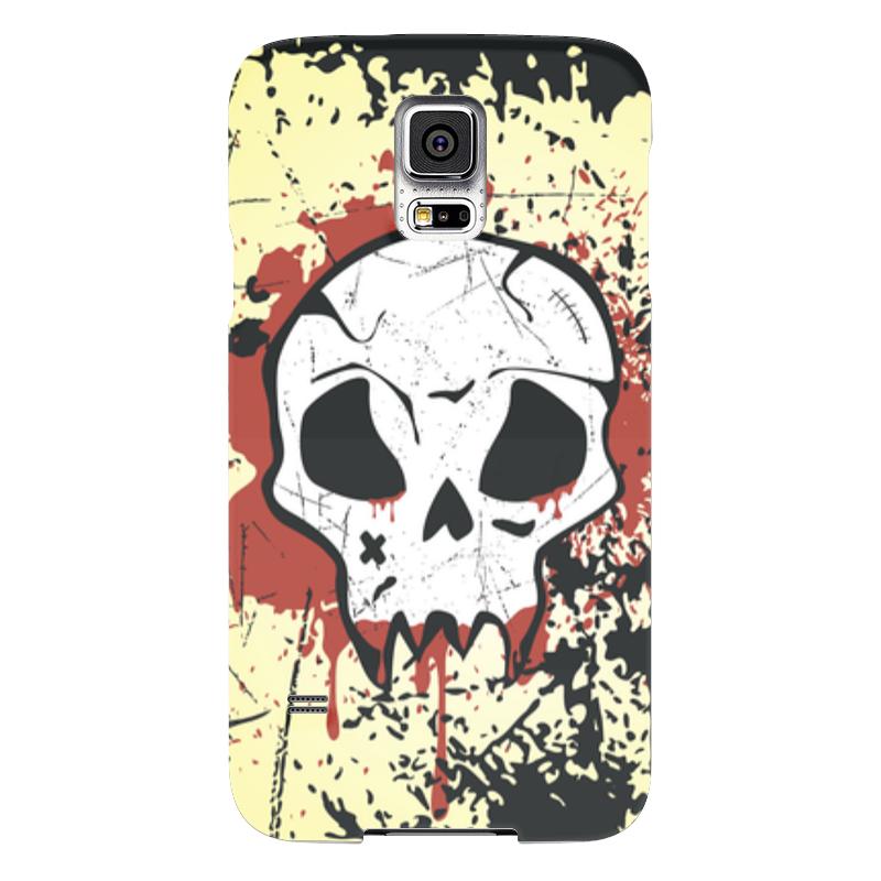 Чехол для Samsung Galaxy S5 Printio Grunge skull чехол для samsung galaxy s5 printio барселона на samsung galaxy s5