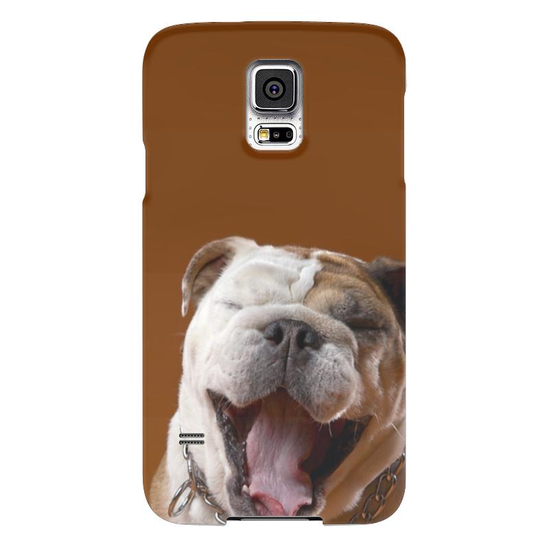 Чехол для Samsung Galaxy S5 Printio Собака - улыбака