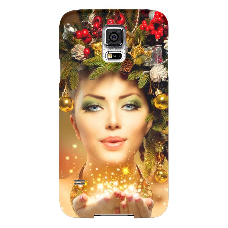 Чехол для Samsung Galaxy S5 Printio Девушка чехол для samsung galaxy s5 printio барселона на samsung galaxy s5