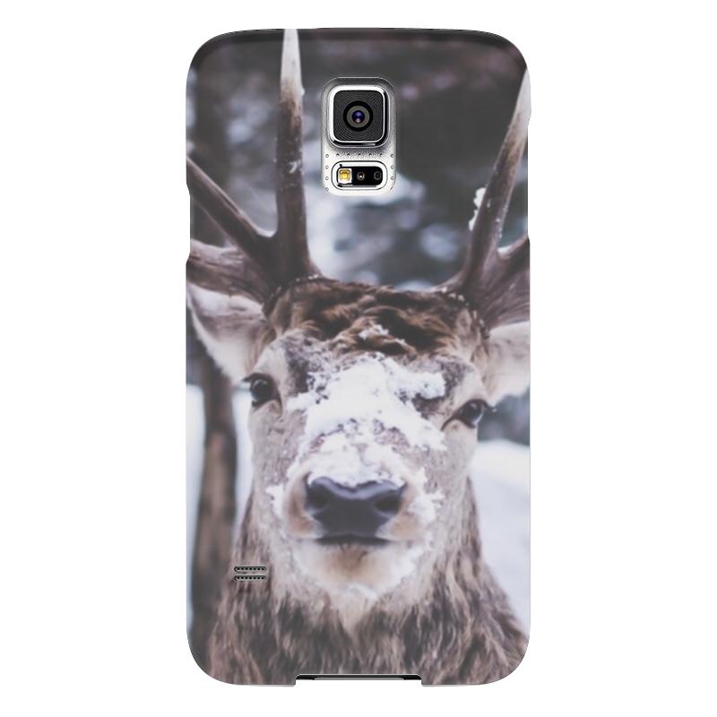 Чехол для Samsung Galaxy S5 Printio Олень чехол для samsung galaxy s5 printio slim finnegan