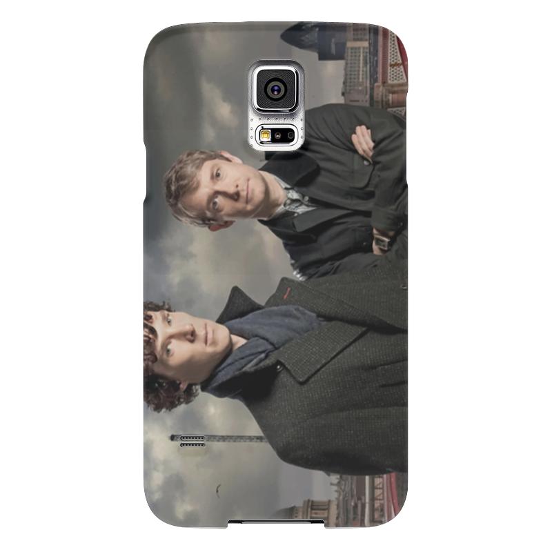 Чехол для Samsung Galaxy S5 Printio Шерлок и джон чехол для samsung galaxy s5 printio череп художник