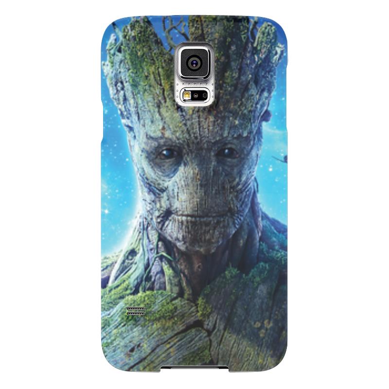 Чехол для Samsung Galaxy S5 Printio Стражи галактики / грут samsung g900h galaxy s5 16гб белый в омске