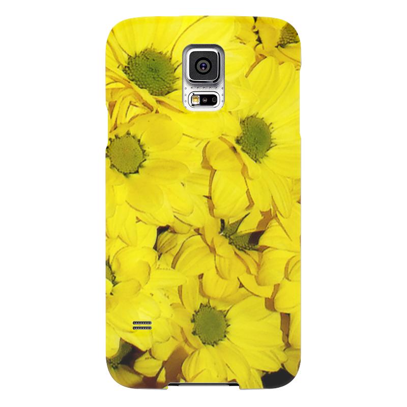 Чехол для Samsung Galaxy S5 Printio Жёлтые хризантемы чехол для samsung galaxy s5 printio череп художник