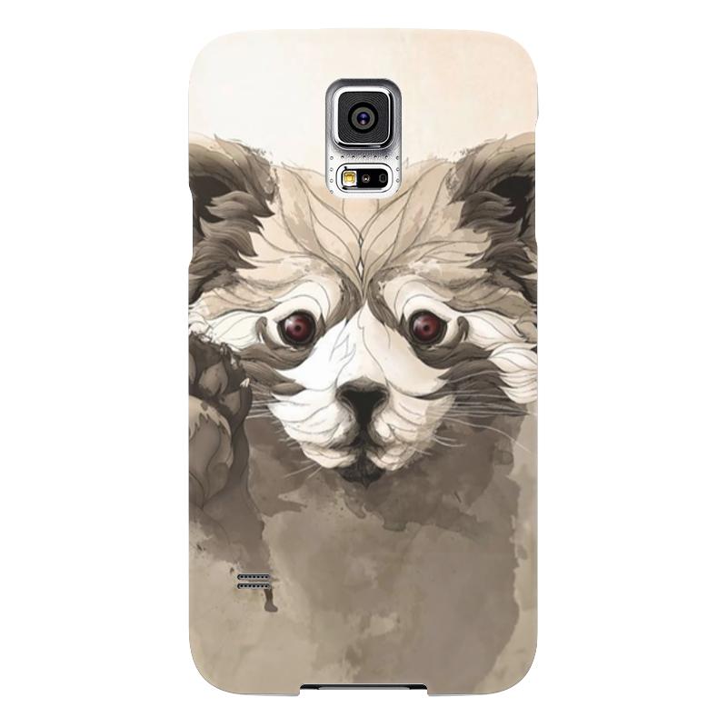 Чехол для Samsung Galaxy S5 Printio Малая панда чехол для samsung galaxy s5 printio skull