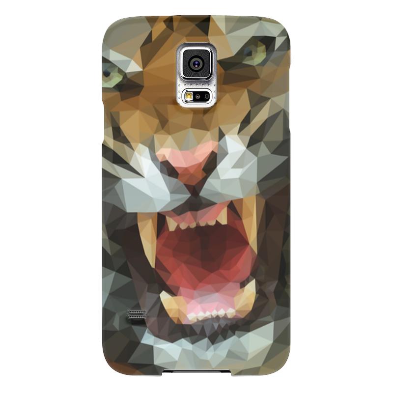 Чехол для Samsung Galaxy S5 Printio Polygon tiger чехол для samsung galaxy s5 printio skull