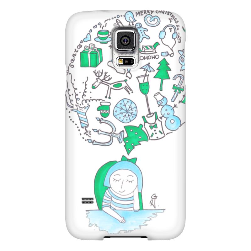 Чехол для Samsung Galaxy S5 Printio Новый год на носу