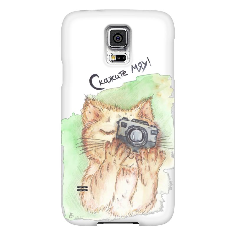 Чехол для Samsung Galaxy S5 Printio Скажите мяу чехол для samsung galaxy s5 printio череп художник