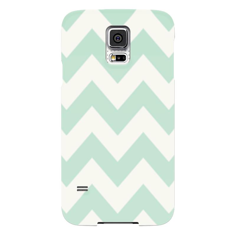Чехол для Samsung Galaxy S5 Printio Светло-зеленый шеврон все цены