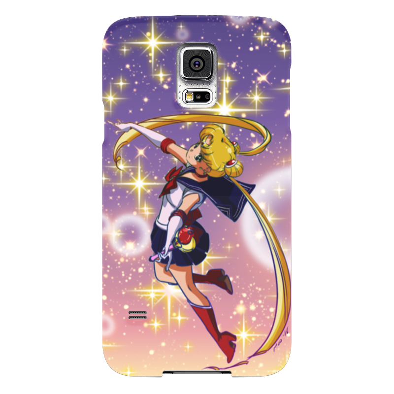 Чехол для Samsung Galaxy S5 Printio Sailor moon samsung g900h galaxy s5 16гб белый в омске