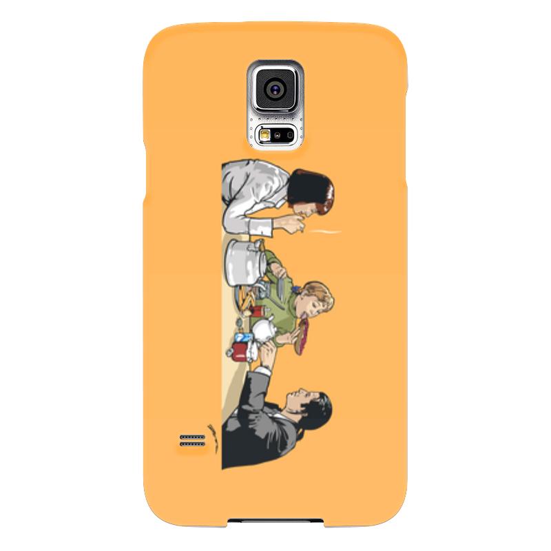 Чехол для Samsung Galaxy S5 Printio Пульпчата чехол для samsung galaxy s5 printio череп художник