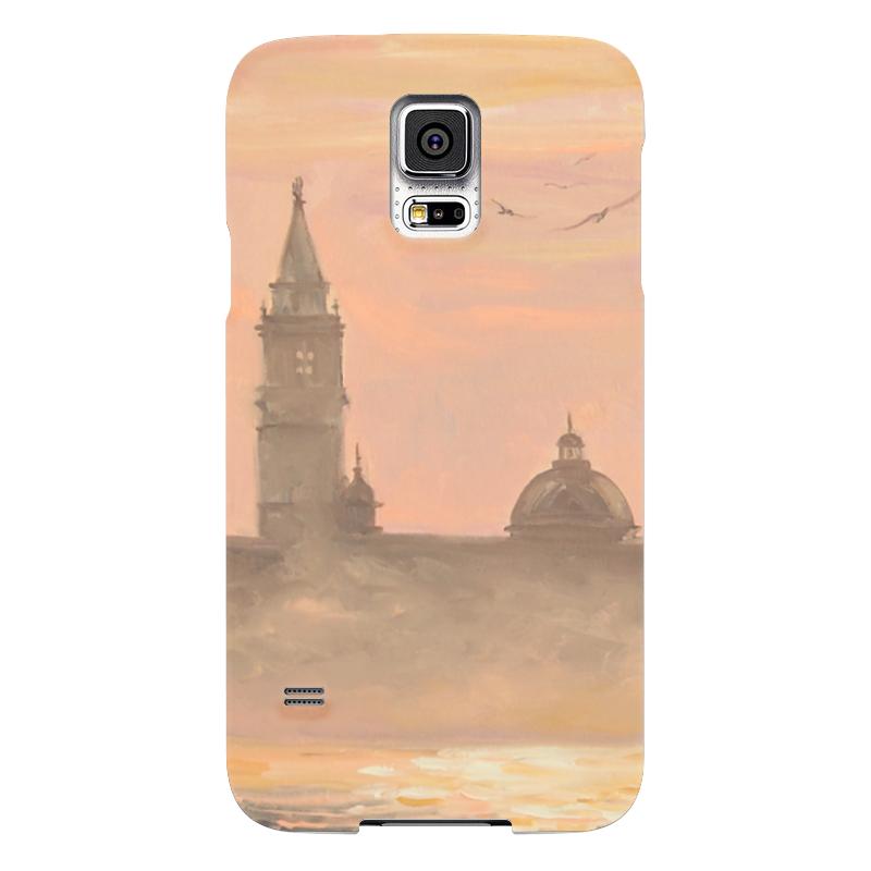 Чехол для Samsung Galaxy S5 Printio Венеция чехол для samsung galaxy s5 printio череп художник