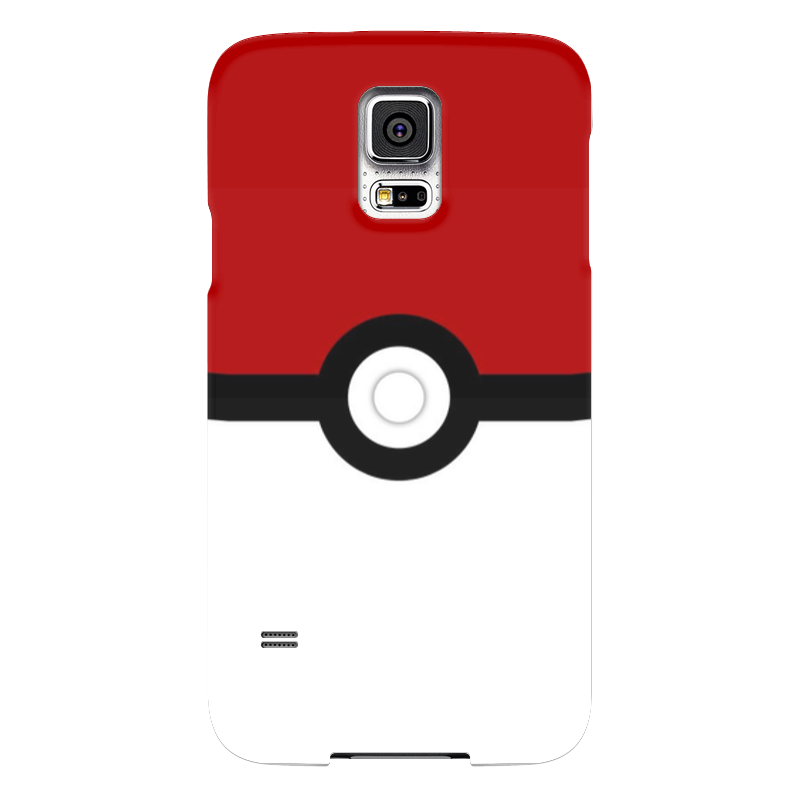 Чехол для Samsung Galaxy S5 Printio Pokeball samsung g900h galaxy s5 16гб белый в омске