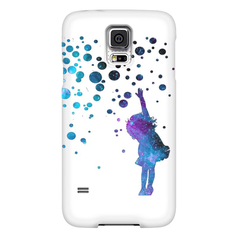 Чехол для Samsung Galaxy S5 Printio Дотянуться до звезд samsung g900h galaxy s5 16гб белый в омске