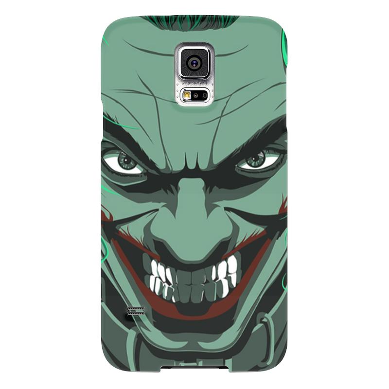 Чехол для Samsung Galaxy S5 Printio Джокер чехол для samsung galaxy s5 printio череп художник