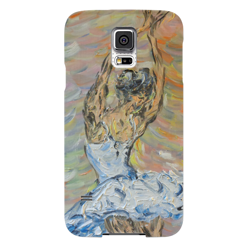 Чехол для Samsung Galaxy S5 Printio Вдохновение samsung g900h galaxy s5 16гб белый в омске