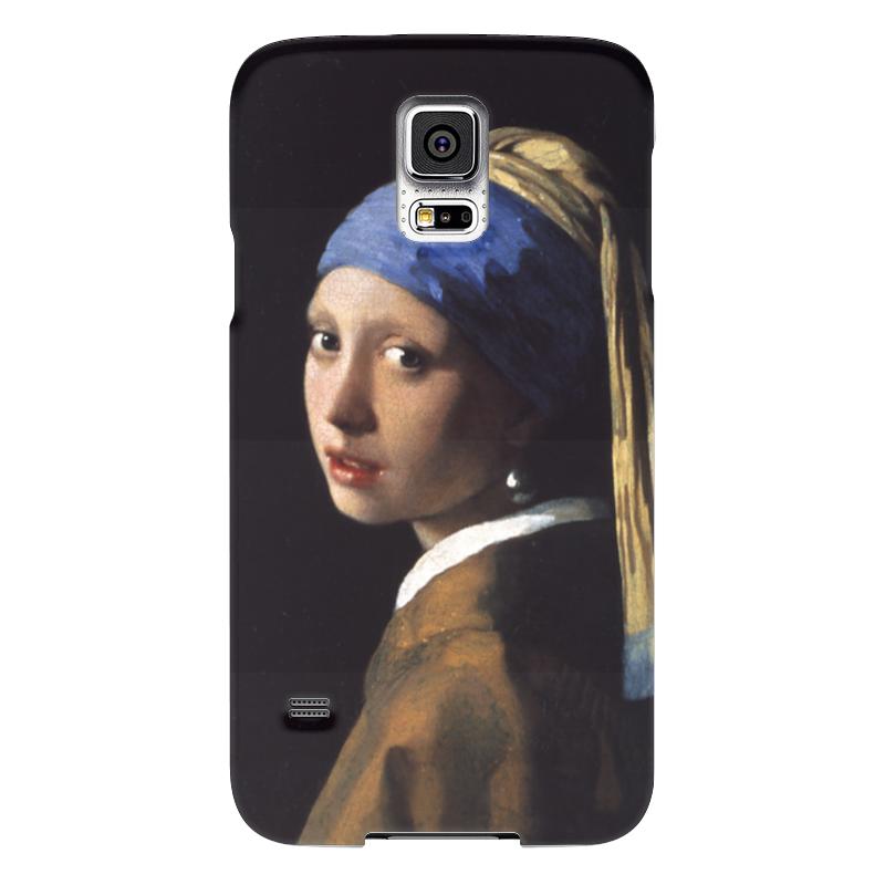 Чехол для Samsung Galaxy S5 Printio Девушка с жемчужной серёжкой (ян вермеер) чехол для samsung galaxy s5 printio девушка с тигром