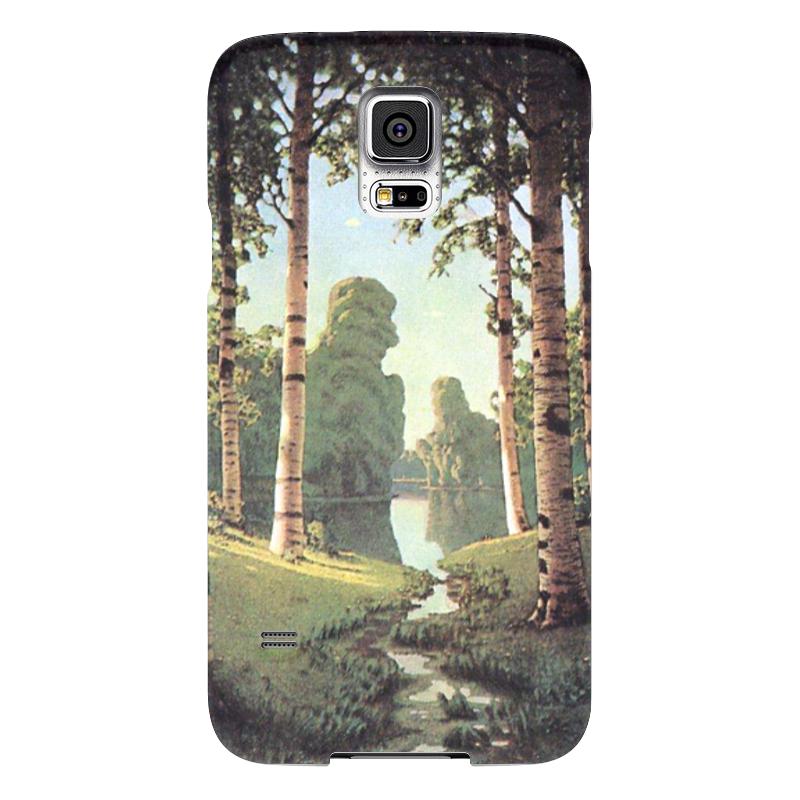 Чехол для Samsung Galaxy S5 Printio Берёзовая роща (картина архипа куинджи) чехол для blackberry z10 printio север картина архипа куинджи