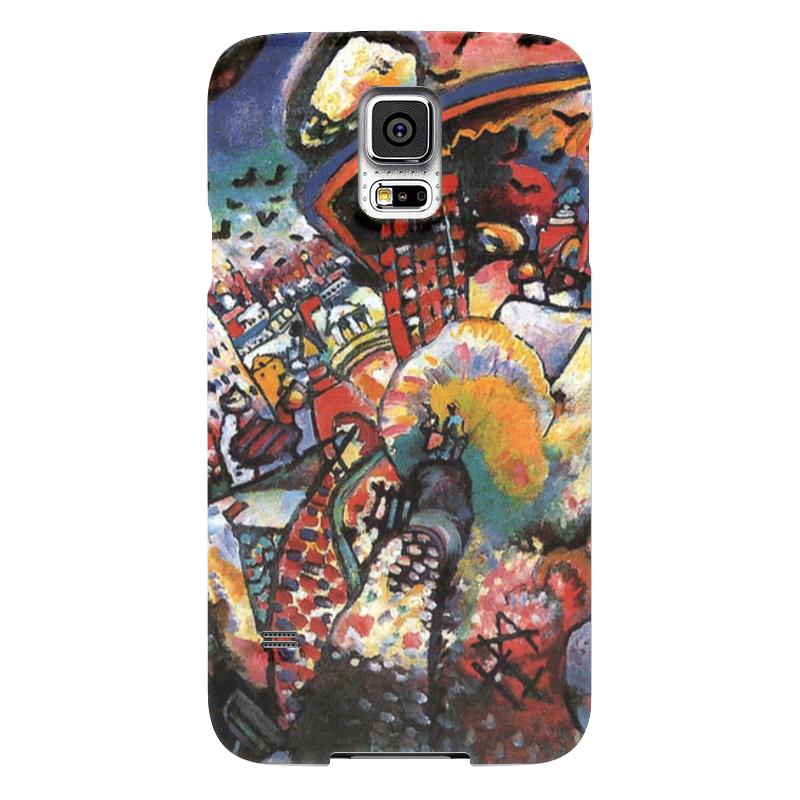 Чехол для Samsung Galaxy S5 Printio Москва. красная площадь