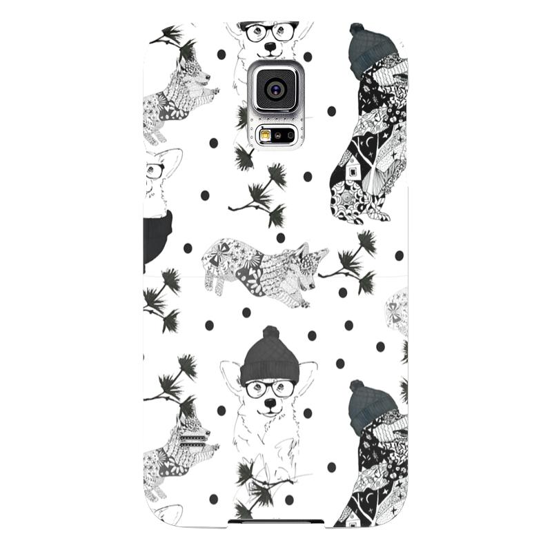 Чехол для Samsung Galaxy S5 Printio Вечеринка корги чехол для samsung galaxy s5 printio череп