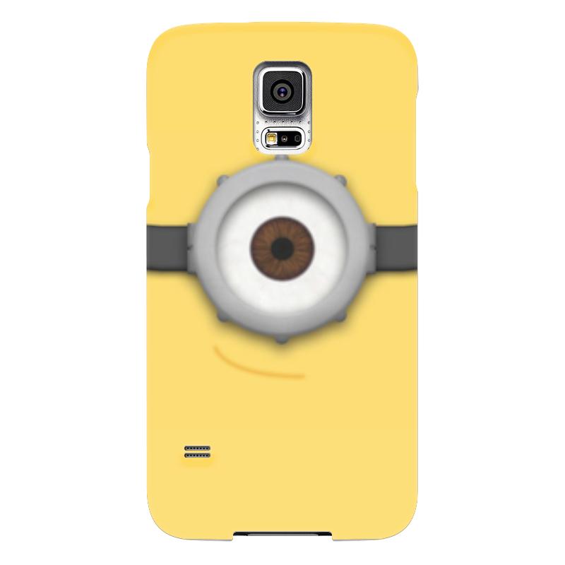 Чехол для Samsung Galaxy S5 Printio Миньон чехол для samsung galaxy s5 printio череп художник