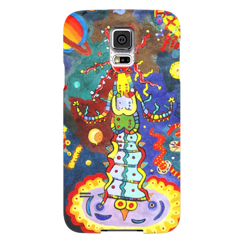 Чехол для Samsung Galaxy S5 Printio Космический арт чехол для samsung galaxy s5 printio череп художник