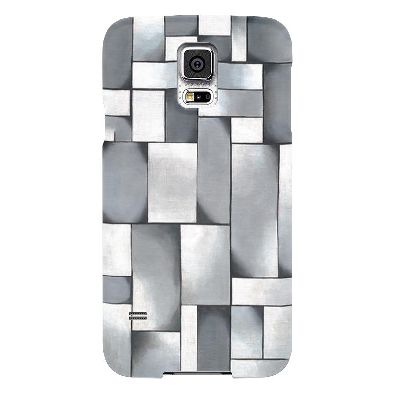 Чехол для Samsung Galaxy S5 Printio Композиция в сером чехол для samsung galaxy s5 printio череп художник