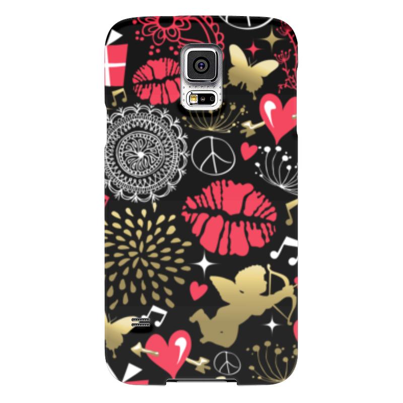 Чехол для Samsung Galaxy S5 Printio Валентинка чехол для samsung galaxy s5 printio череп художник