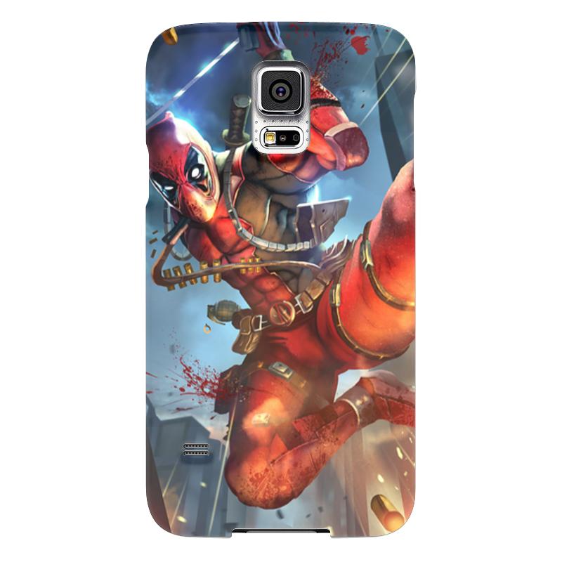 Чехол для Samsung Galaxy S5 Printio Дэдпул (deadpool) samsung g900h galaxy s5 16гб белый в омске