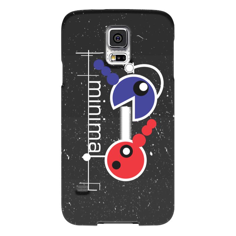Чехол для Samsung Galaxy S5 Printio Минимал чехол для samsung galaxy s5 printio skull