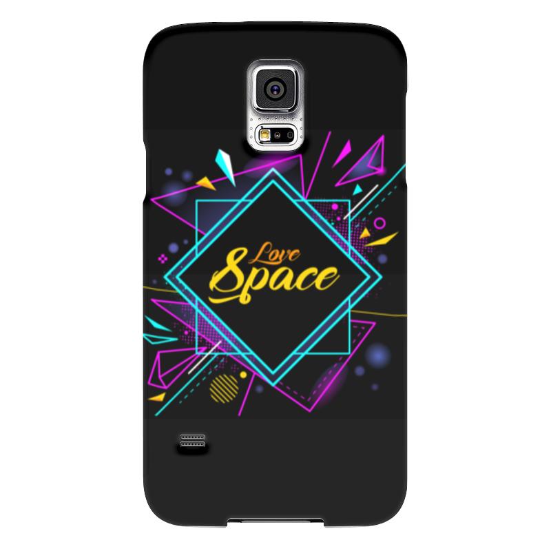 Чехол для Samsung Galaxy S5 Printio Love space чехол для samsung galaxy s5 printio череп художник