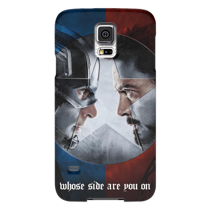 Чехол для Samsung Galaxy S5 Printio Первый мститель:противостояние чехол для samsung galaxy s5 printio череп художник
