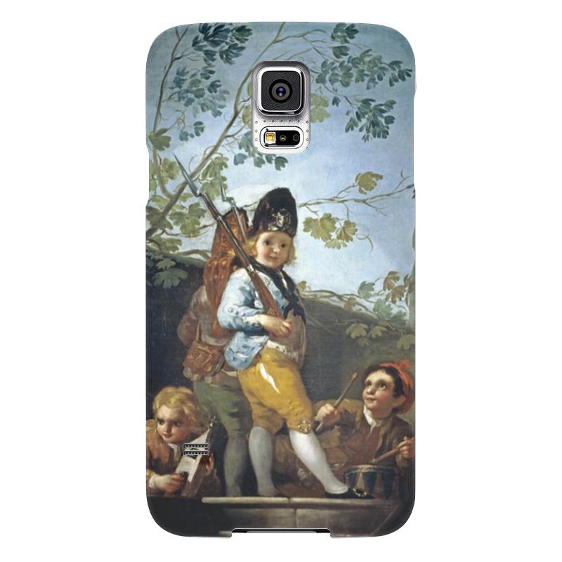 Чехол для Samsung Galaxy S5 Printio Мальчики играют в солдат чехол для samsung galaxy s5 printio череп художник