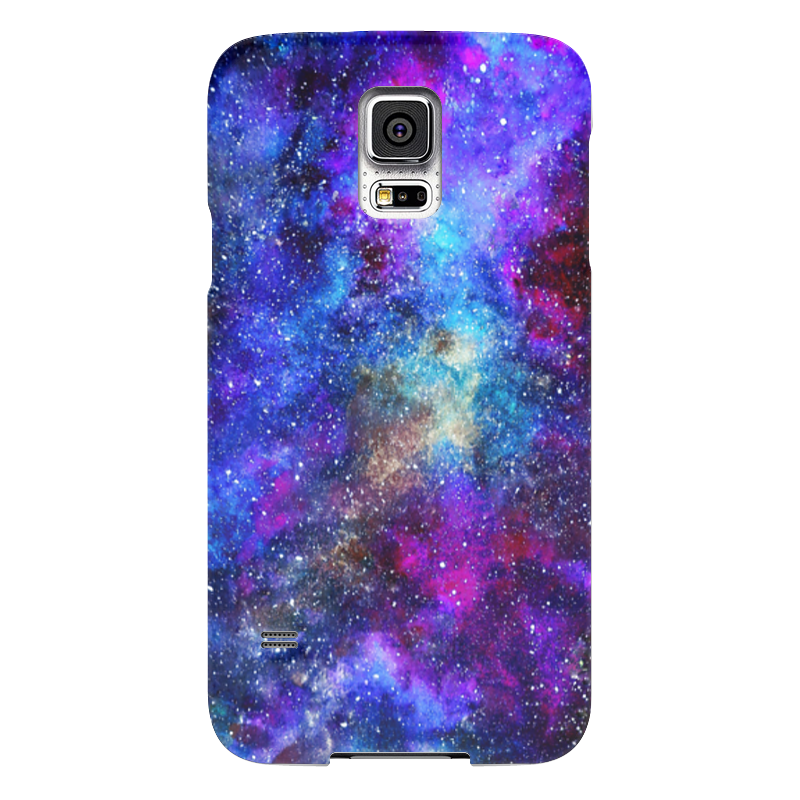 Чехол для Samsung Galaxy S5 Printio Purple space чехол для samsung galaxy s5 printio череп художник