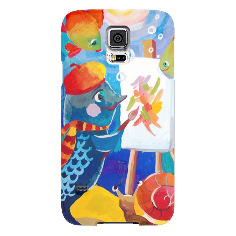 Чехол для Samsung Galaxy S5 Printio Подводный мир де ла бедуайер камилла подводный мир