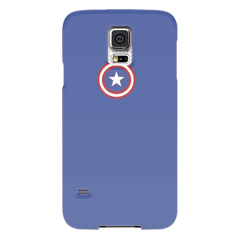 Чехол для Samsung Galaxy S5 Printio Капитан америка чехол для samsung galaxy s5 printio череп художник