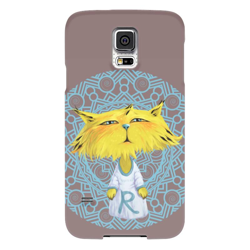 Чехол для Samsung Galaxy S5 Printio Рысёнок samsung g900h galaxy s5 16гб белый в омске